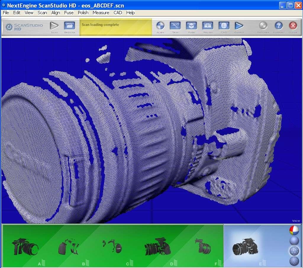 nextengine - [Scanner 3D] NextEngine HD présentation et essais. Eos210