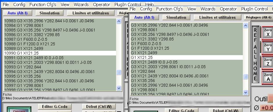 [info] Mach3 - Numérotation des lignes du Gcode Numero11