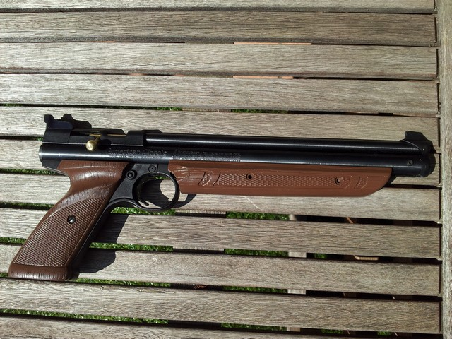 "Essais Crosman 1377 ""out of the box"" ... 20130814"