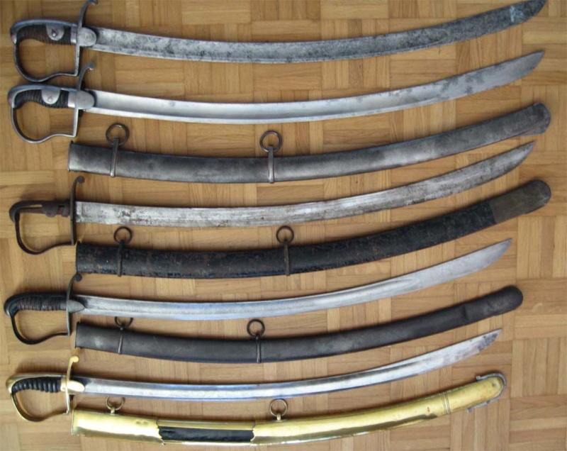 """Les sabres """"BLUCHER""""  R11"""
