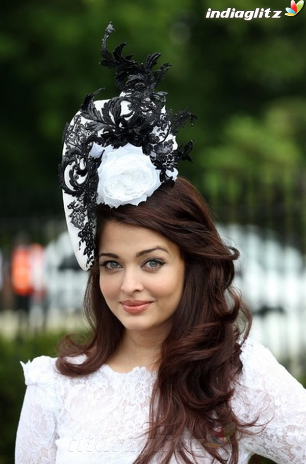 Aishwarya At Royal Ascot's Opening Day Ais20610