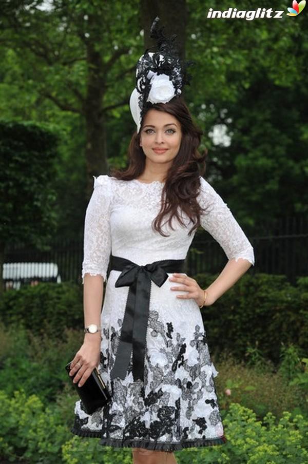 Aishwarya At Royal Ascot's Opening Day Ais20810