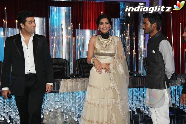 Dhanush, Sonam Grace Jhalak Dikhhla Jaa Rajh2019