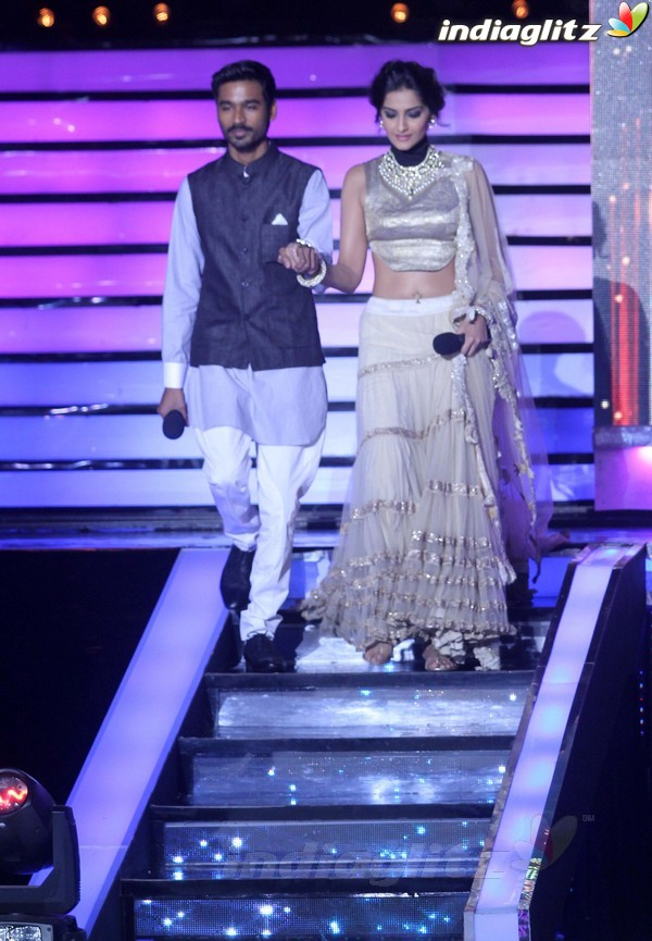 Dhanush, Sonam Grace Jhalak Dikhhla Jaa Rajh2032
