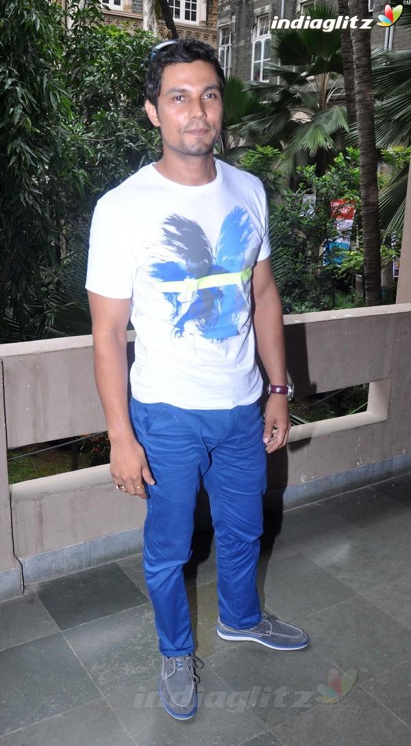 Randeep Hooda Promotes John Day@Malhar Festival Rdh18011