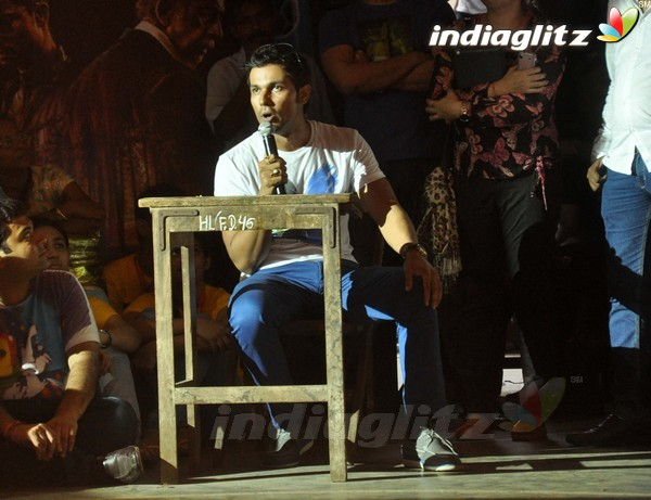 Randeep Hooda Promotes John Day@Malhar Festival Rdh18016