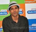 Farhan Akhtar Promotes 'Bhaag Milkha Bhaag' On-Air Farh2012