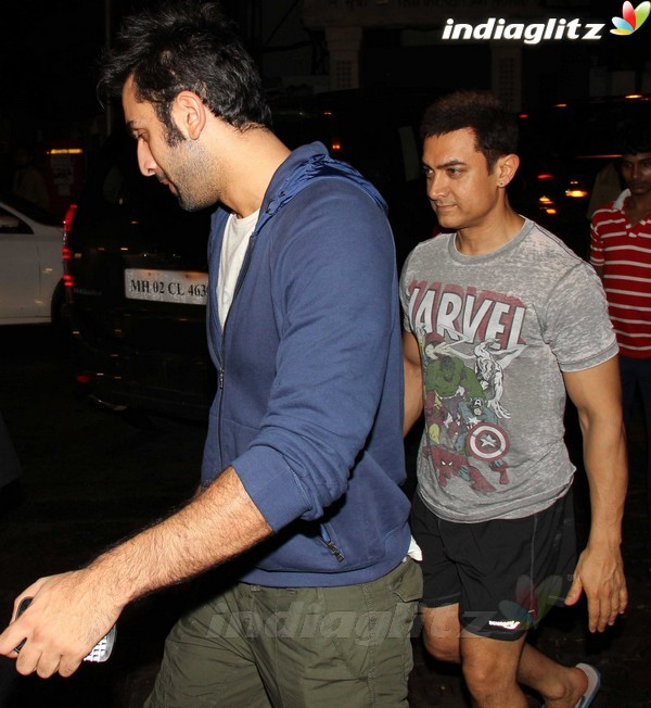 Aamir, Ranbir@'Ship Of Theseus' Special Screening Thea1916