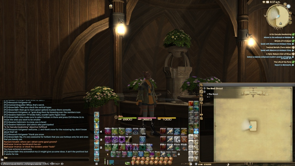 Screenshot your UI give each other idea's Ffxiv_25