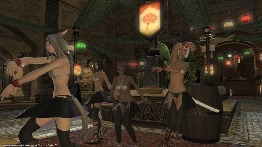 Finally part of the Ul'dah Miqo Dancer Crew Ffxiv_27