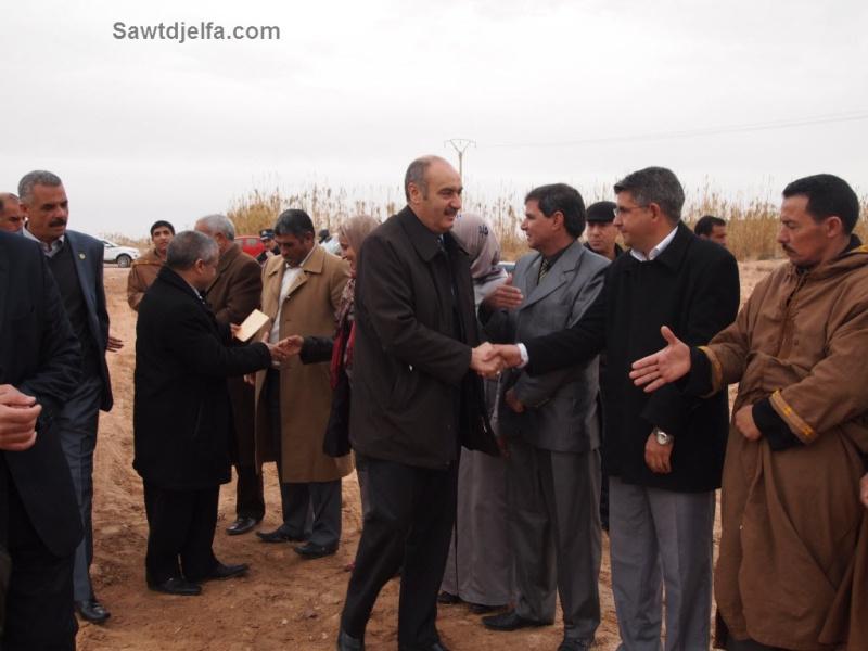 """والي الجلفة في زيارة ماراطونية إلى بلديات """"مسعد"""": نحو إدماج 97 عامل مؤقت ببلدية مسعد  Visite10"""