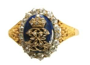 les bijoux de l'impératrice Sissi Anello10