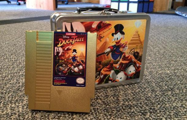 Ducktales Nes en Gold 1518-g10