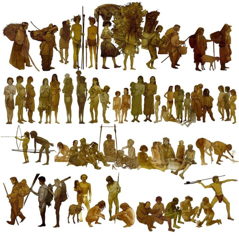 l'image de l'homme préhistorique - Page 8 Histor10