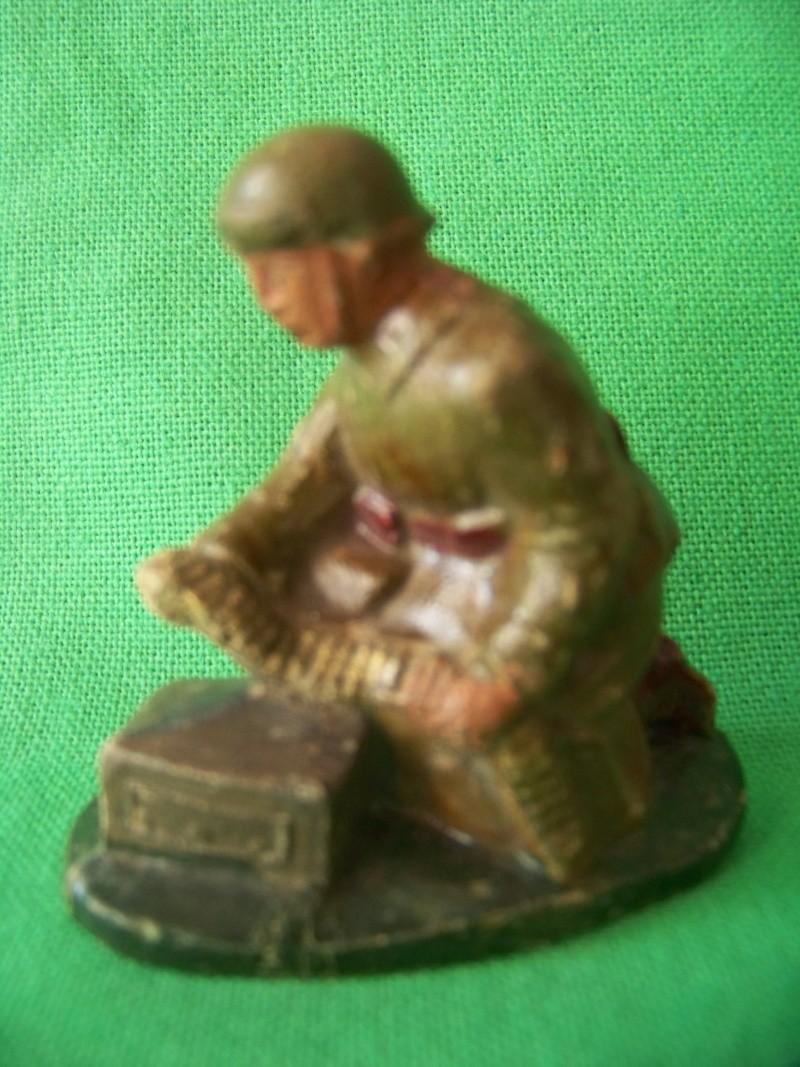 DC KAKI Casque de la libération dont Artillerie Télémètre compo Dc6_0210