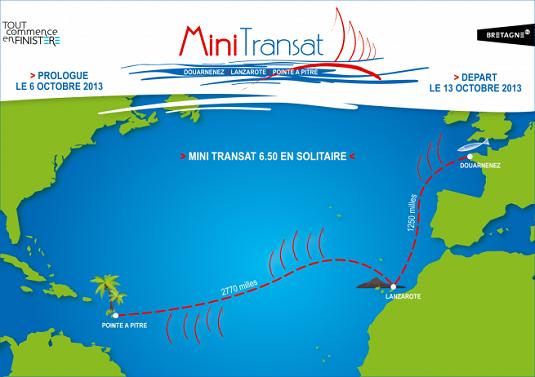MINI TRANSAT 2013 / V.I. / LEG 1 & LEG 2 / COURSE TERMINÉE 13091010