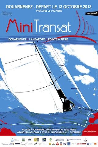 MINI TRANSAT 2013 / V.I. / LEG 1 & LEG 2 / COURSE TERMINÉE Affich10