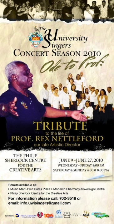 Professor Rex Nettleford was a leading Caribbean intellectual and visionary Uwi-si10