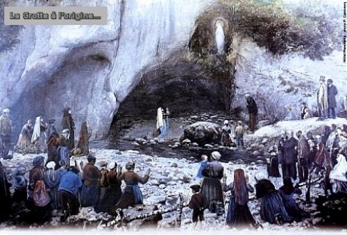 Sainte Fête de Notre-Dame* de Lourdes à tous!! Lourde10