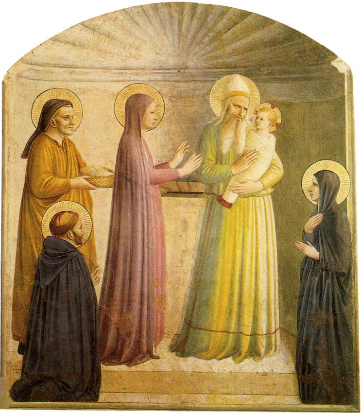Sainte fête de la Présentation de Jésus au Temple! Prasen10