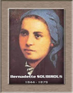 Sainte Fête de Notre-Dame* de Lourdes à tous!! Sainte11
