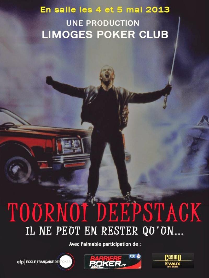Tournoi Deep Stack limoges 4 et 5 mai 2013 Affich13
