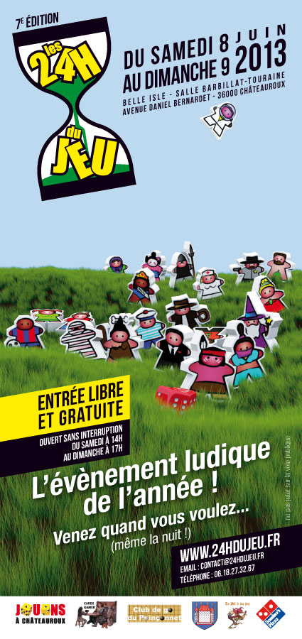 Les 24h du jeu 2013 - supports de com' Flyer-10