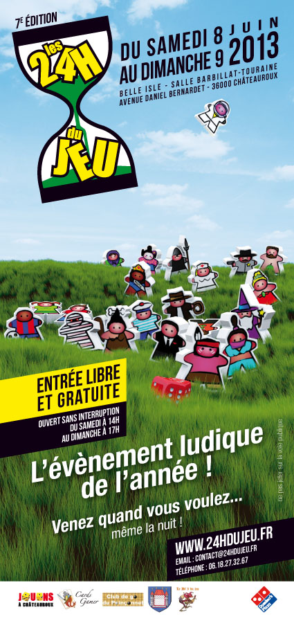Les 24h du jeu 2013 - supports de com' Flyer-11