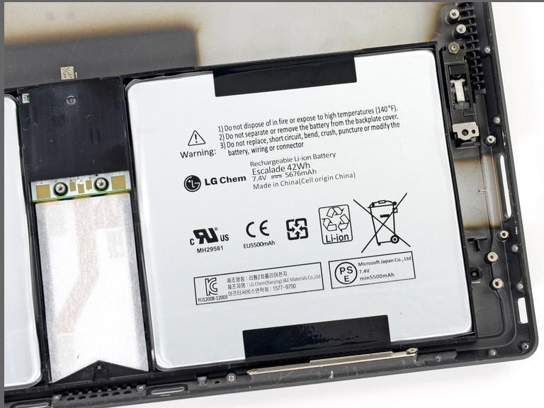 Microsoft Surface Pro Battery A15