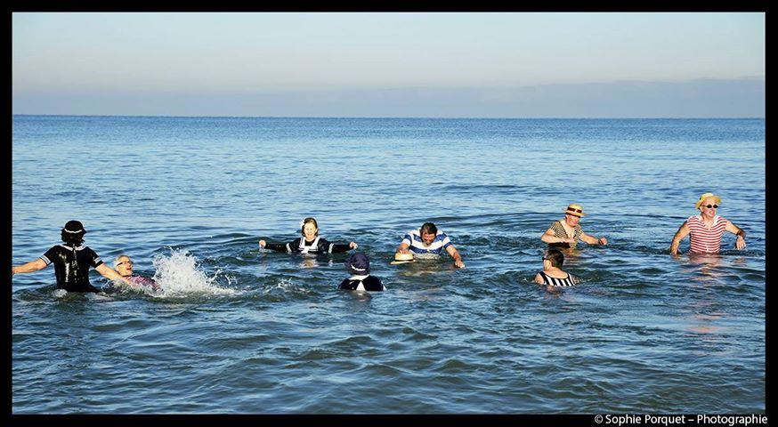 Dernier bain de l'année 31 /12/ 2018  à Cabourg et les  Photos - Page 2 15820610