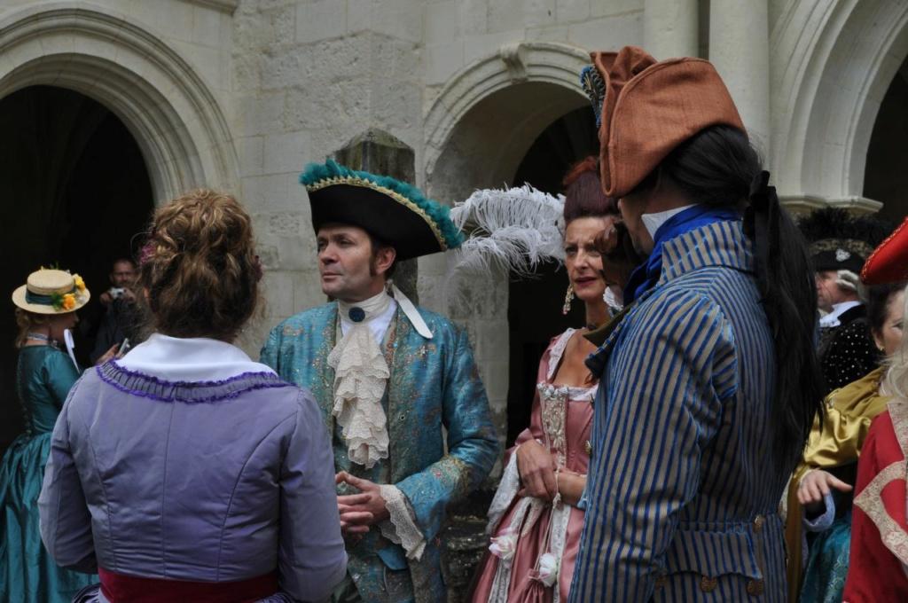 Weekend en costume à l'abbaye de Fontevraud 2010 46612810