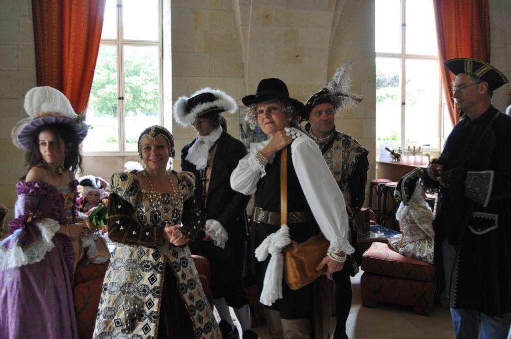 Weekend en costume à l'abbaye de Fontevraud 2010 46627310