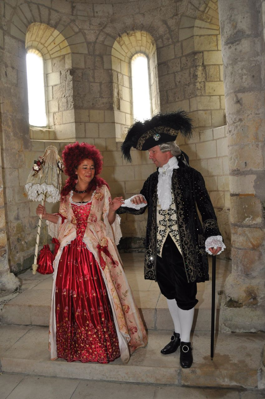 Weekend en costume à l'abbaye de Fontevraud 2010 46627710