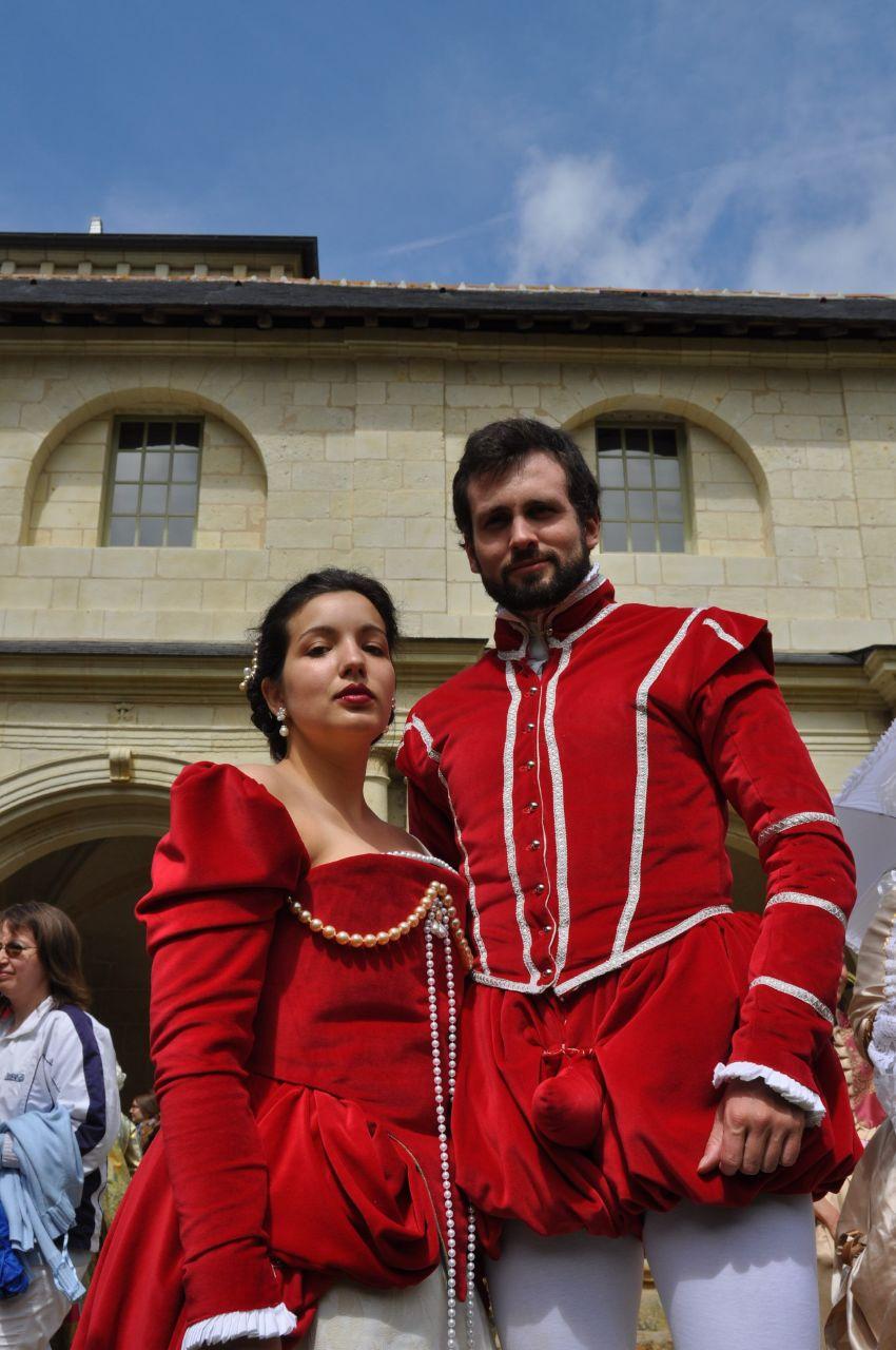 Weekend en costume à l'abbaye de Fontevraud 2010 46644010