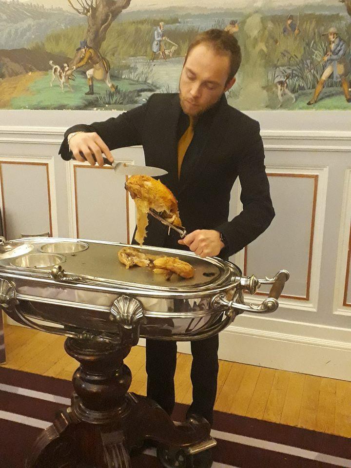 Diner de gala le 28 Janvier 2019 au Grand Hotel ,  50790010