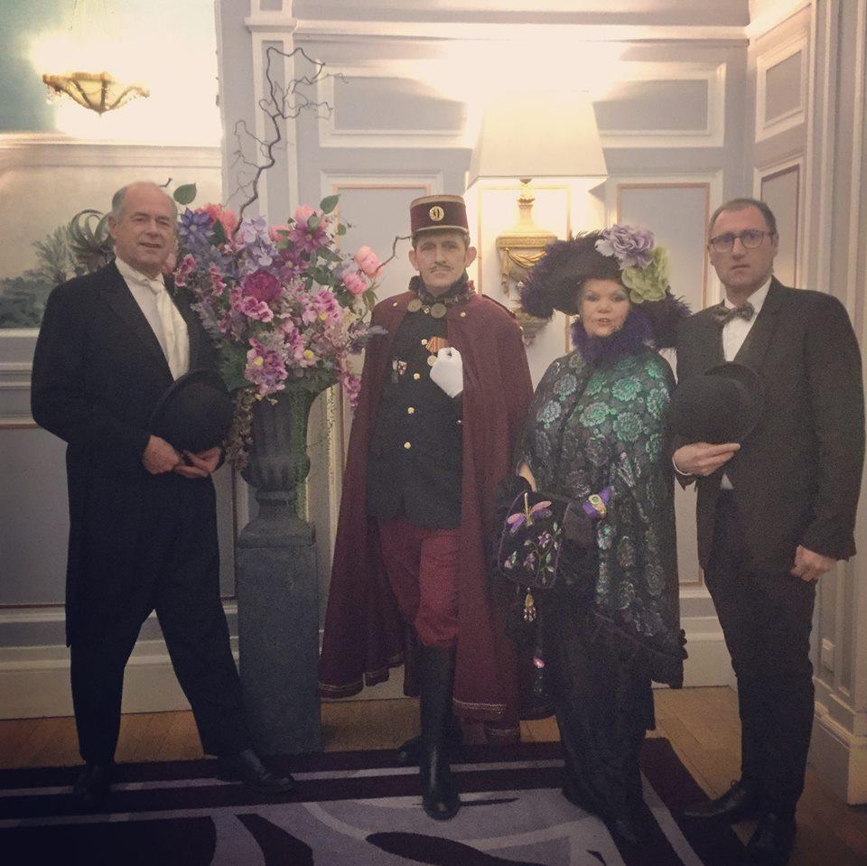 Diner de gala le 28 Janvier 2019 au Grand Hotel ,  51410410