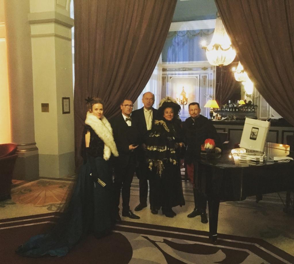 Diner de gala le 28 Janvier 2019 au Grand Hotel ,  62f6d710