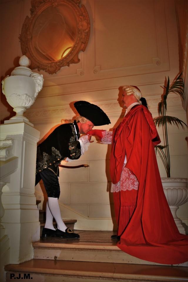 Les photos du Bal en costume XVIII eme siecle, 12 Octobre 2019 à l hôtel de France  - Page 3 73298410