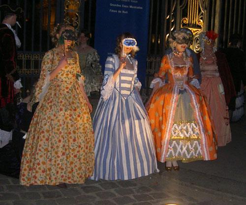 le bal de Versailles 2003, Hotel de France Bal20012