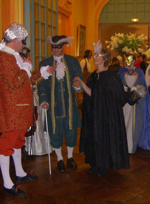 le bal de Versailles 2003, Hotel de France Bal20014