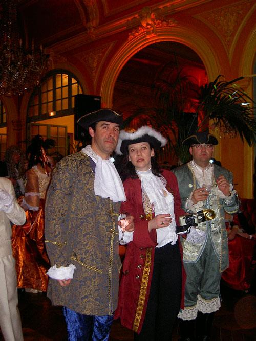 le bal de Versailles 2003, Hotel de France Bal20016