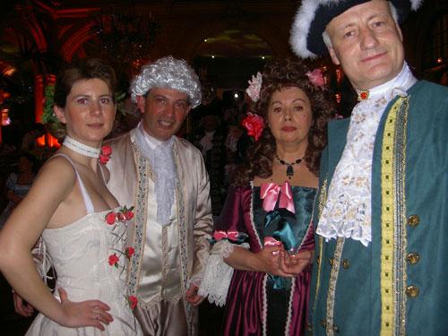 le bal de Versailles 2003, Hotel de France Bal20020