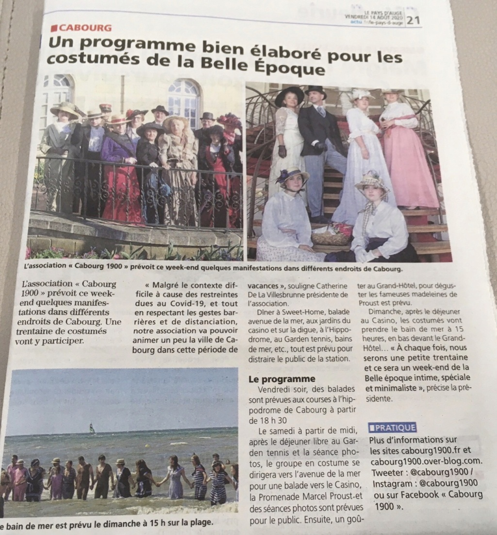 Weekend 1900 a Cabourg 22 et 23  Aout 2020,  - Page 2 Cc2bb410