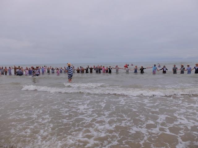 Dernier bain de l'année 31 /12/ 2018  à Cabourg et les  Photos Fuji3112