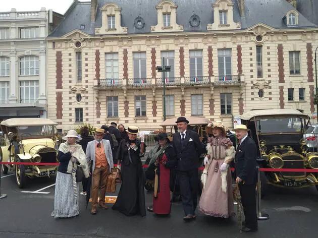 Village Rallye historique Paris Trouville,  samedi 2 Octobre 2021  Mjaymt10