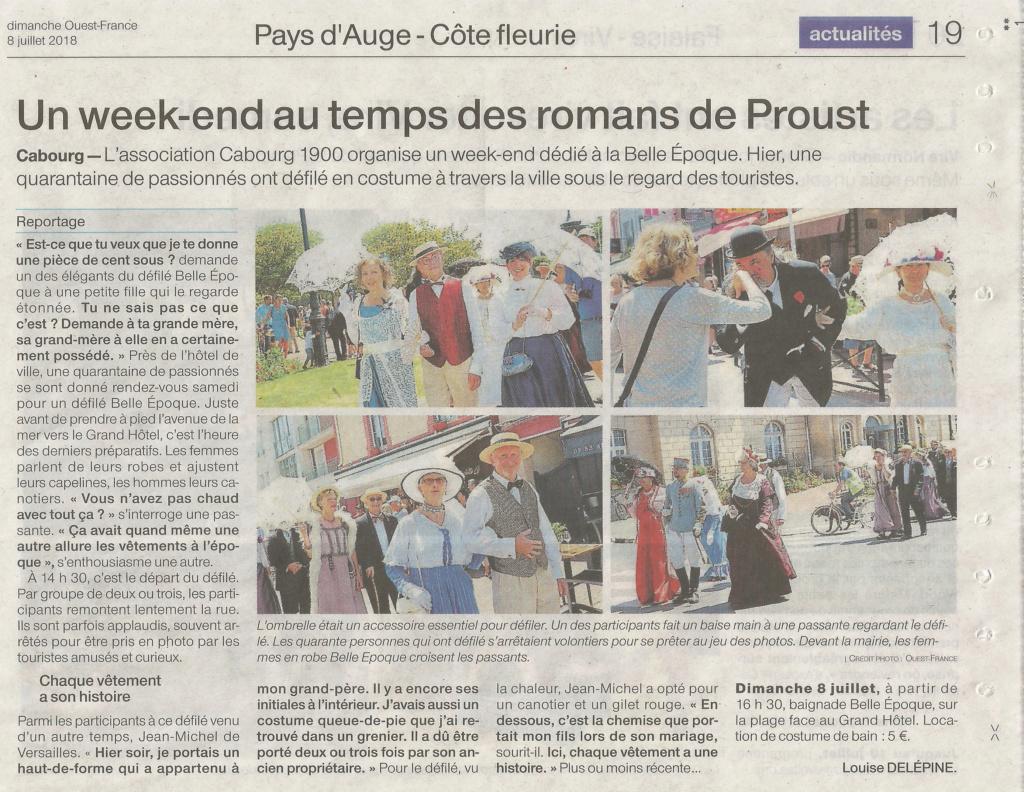 La Presse ,  Cabourg 1900 - Page 2 Ouestf13