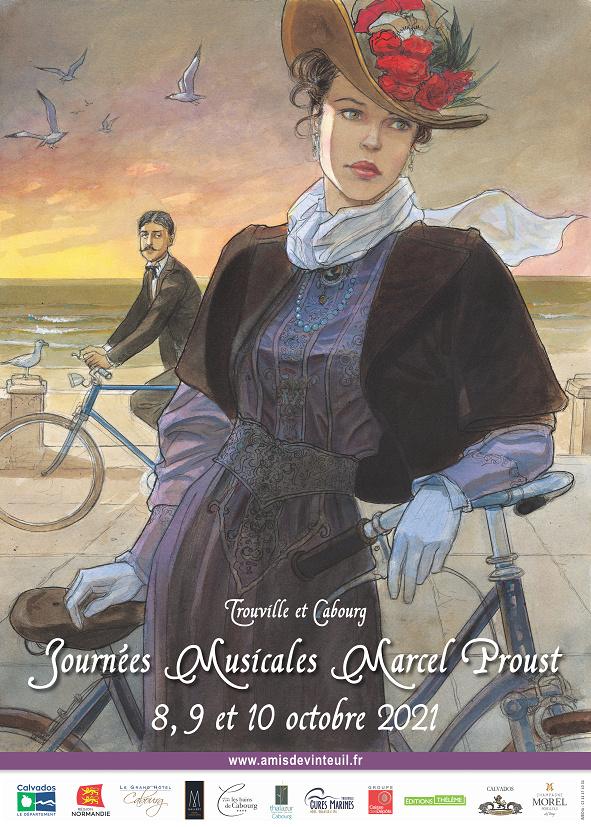 les journées musicales Marcel Proust , 8 au 10 octobre 2021, Cabourg Teaser10