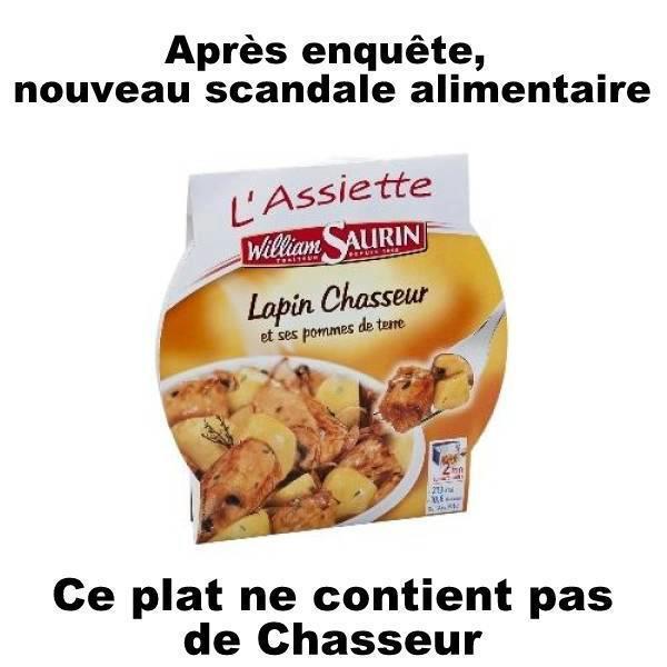 Les Plats cuisinés Findus Chasse10