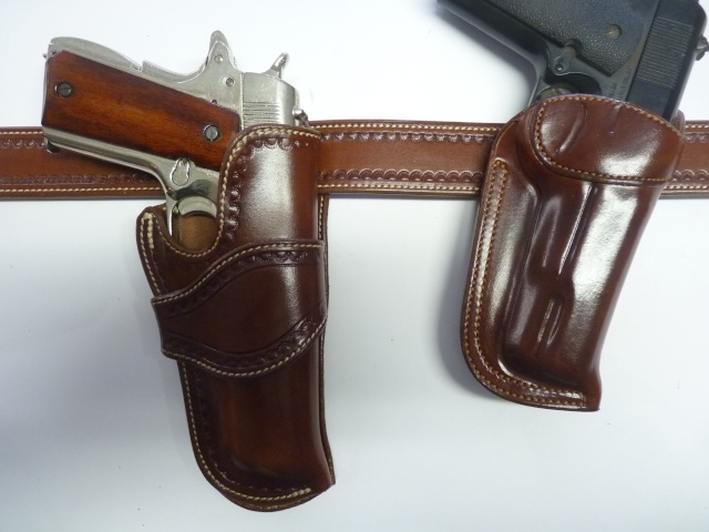 HOLSTER AUSTIN (A.W BRILL) by La SELLERIE P1110917