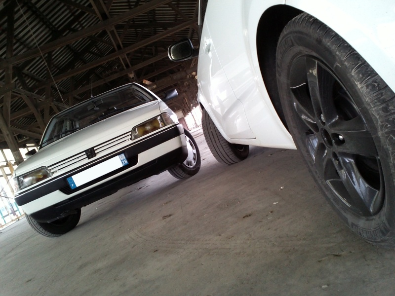 [GL + Husky-28] Peugeot 405 GL et Husky et autre discussion Img19511